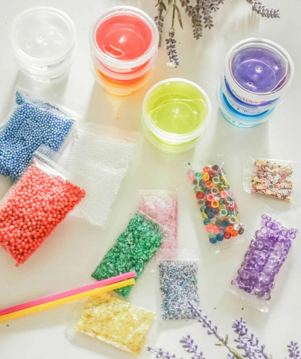 Mix your own Slime Kit - 23 Piece Set