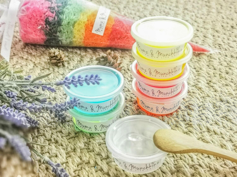 Rainbow Slime Sensory Kit