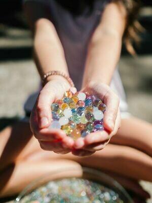 Sensory Rainbow Water Beads