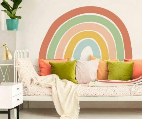 Rainbow Decal - Pastel
