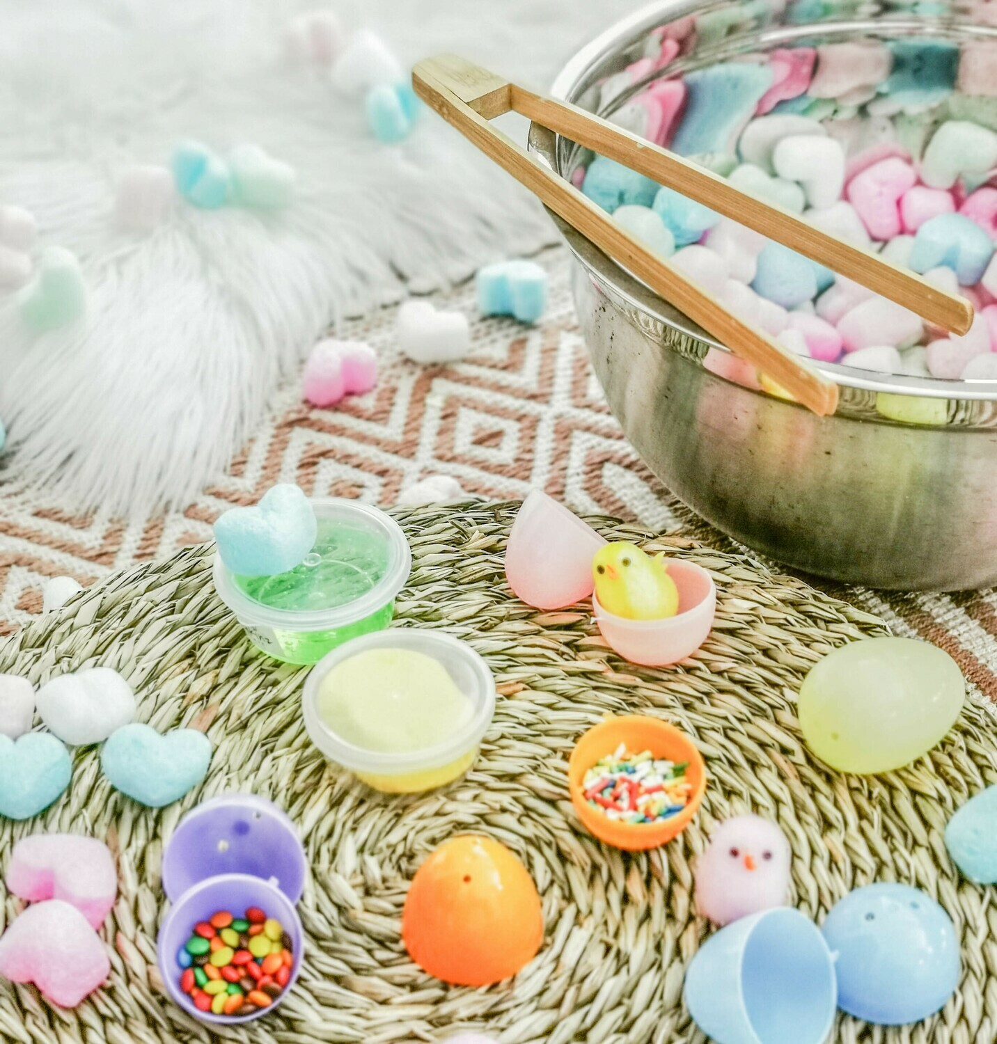 Find the Egg Sensory Play