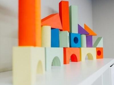 Foam Building Blocks - 24 Pieces