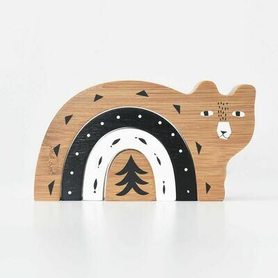 Bamboo Nesting Bear
