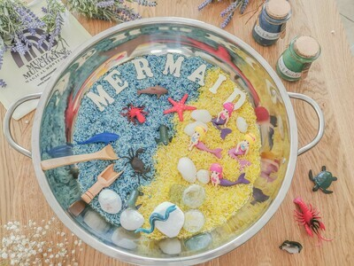 Mermaid World Sensory Play Kit