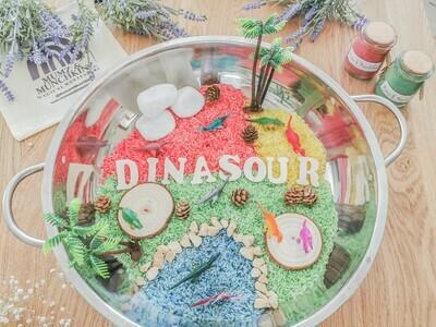 Dino World Sensory Play Kit