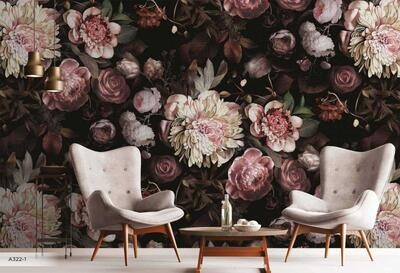 Wallpaper - Amazon Collection: Floral Hues