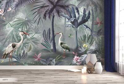 Wallpaper - Amazon Collection: Moody Jungle