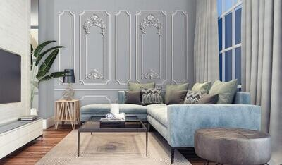 Wallpaper - Moulding: Classical Inspired