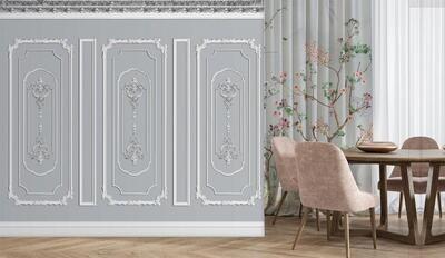Wallpaper - Moulding: Ostentatious Walls