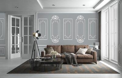 Wallpaper - Moulding: Vintage Walls
