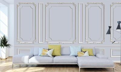 Wallpaper - Moulding: Classic Aesthetics