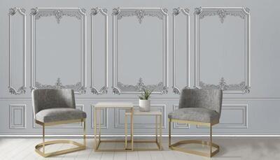 Wallpaper - Moulding: Rich Sculpture