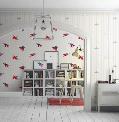 Wallpaper - Kids Collection: Flying Superman