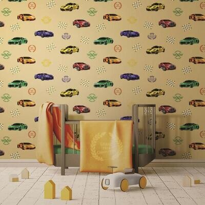 Wallpaper - Kids Collection: Racing Cars