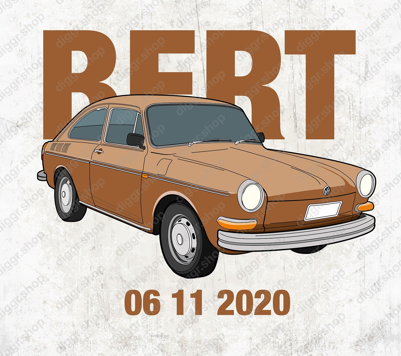 Geboortekaartje VW Fastback (9999)