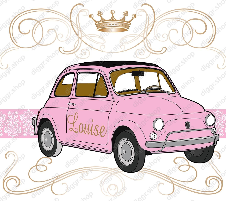 Geboortekaartje Fiat 500 (211)