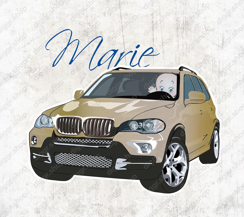 Geboortekaartje BMW X5 (1321)