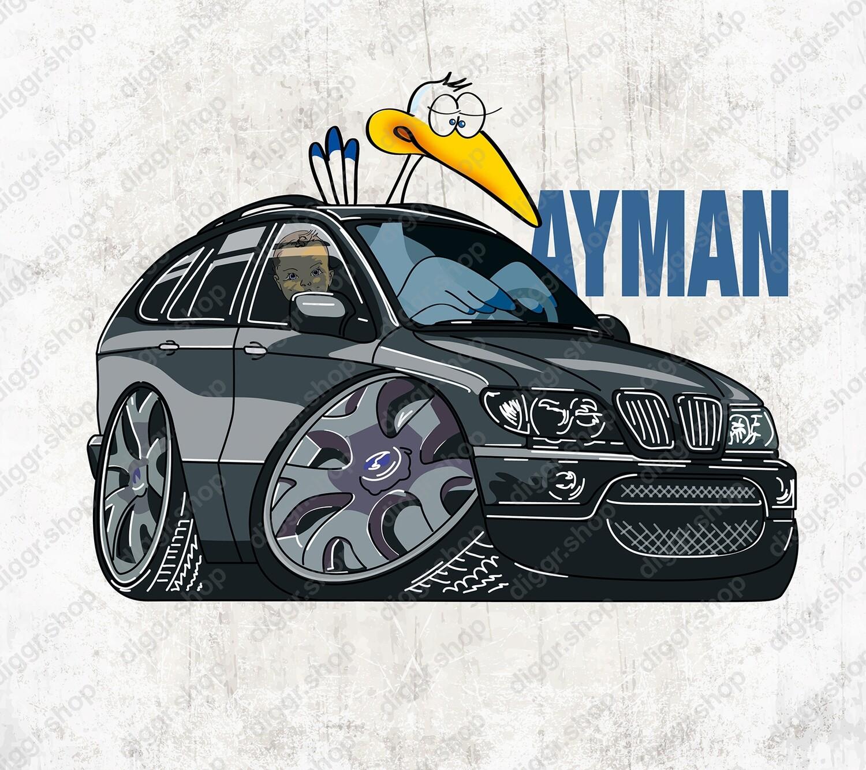 Geboortekaartje BMW X5 (1317)