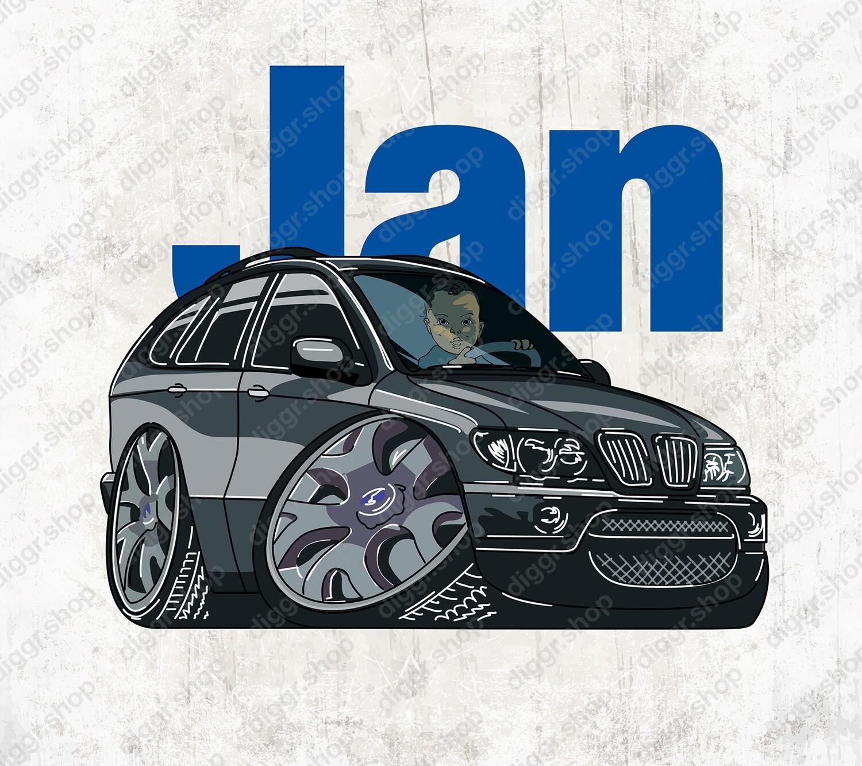 Geboortekaartje BMW X5 (1322)