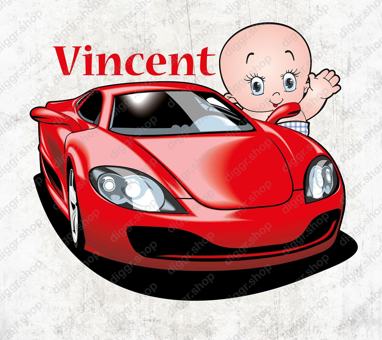 Geboortekaartje Ferrari (1350)