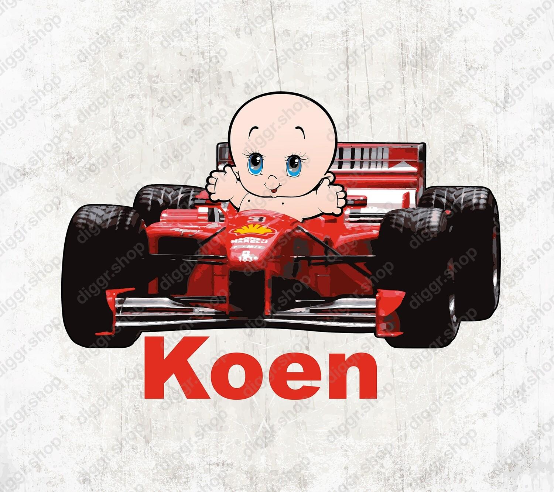 Geboortekaartje Ferrari Formule 1 (1347)