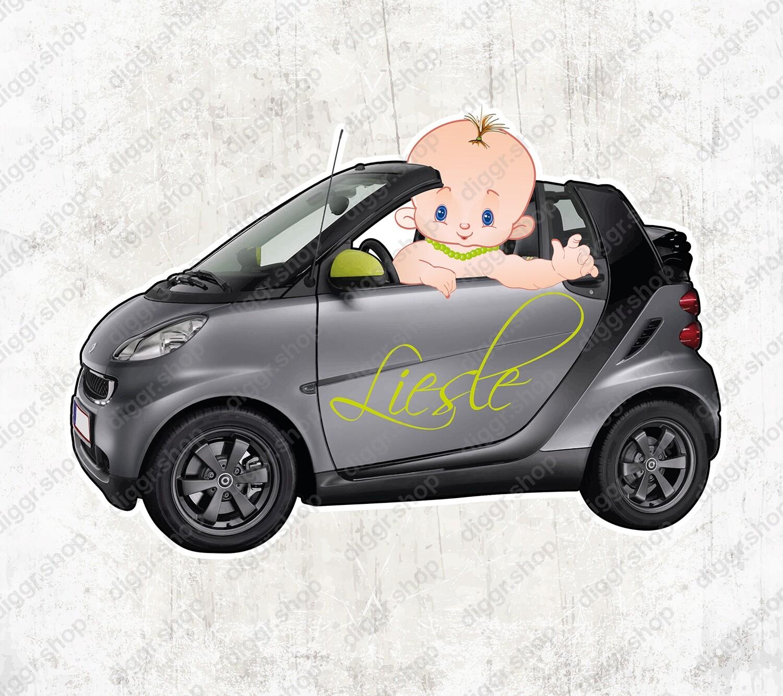 Geboortekaartje Smart Cabrio (1403)