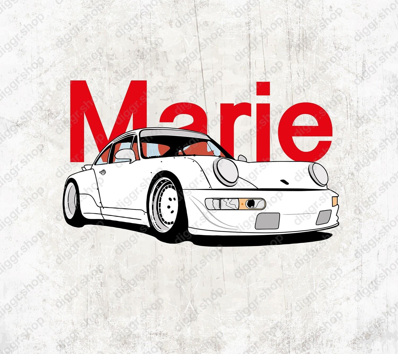 Geboortekaartje Porsche (19018)