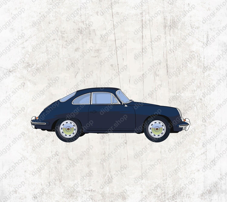 Geboortekaartje Porsche 958 (19022)