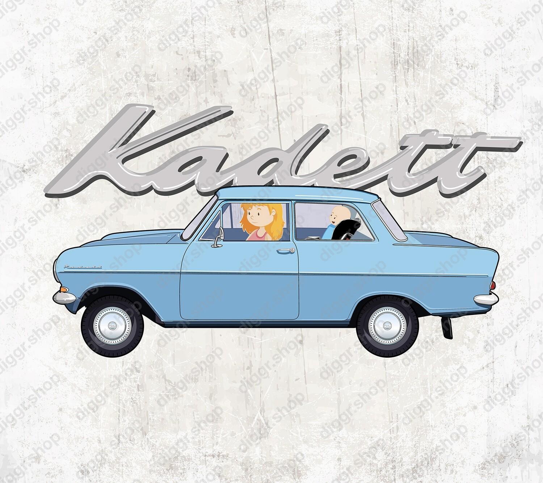 Geboortekaartje Opel Kadett (19041)