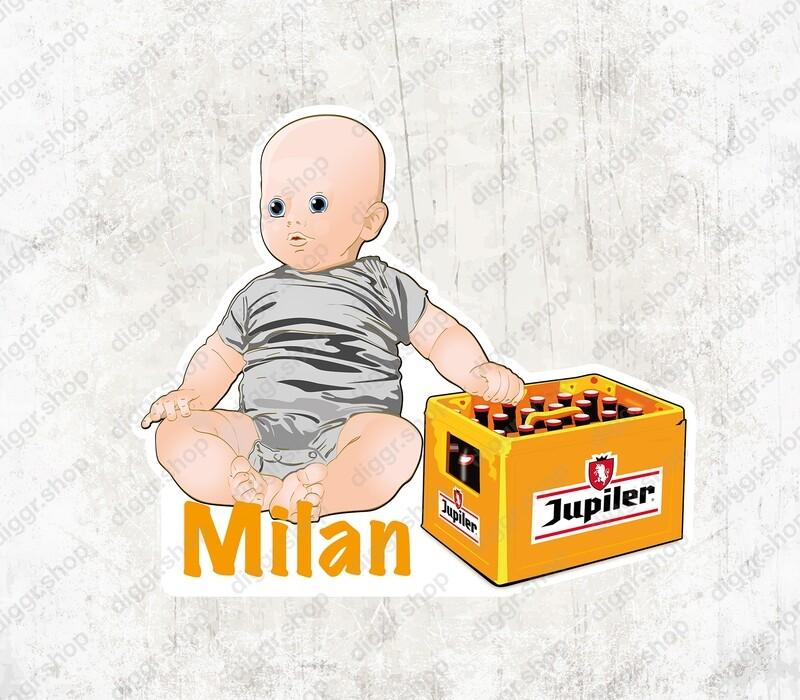 Geboortekaartje Baby Jupiler (1525)