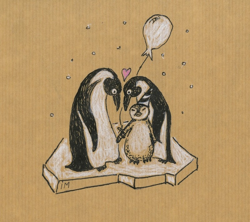 Geboortekaartje Pinguins (201919)