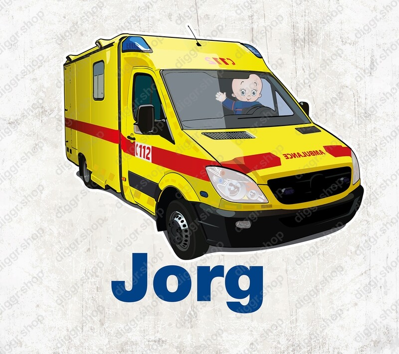 Geboortekaartje Ambulancier 4 (1004)