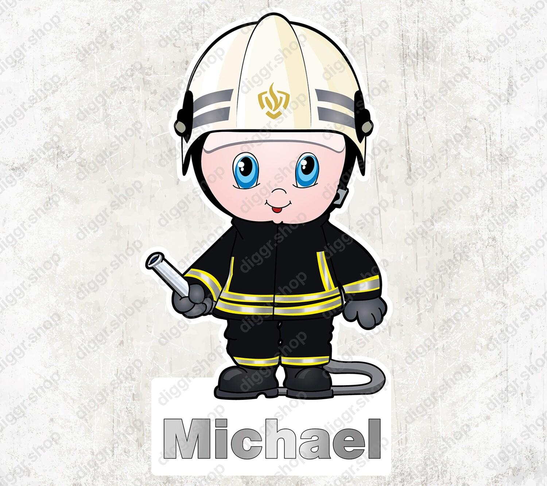 Geboortekaartje Brandweerman NL (1015)
