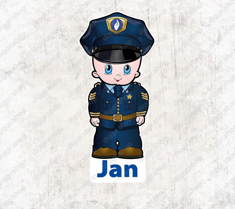Geboortekaartje Politieagent (1033)