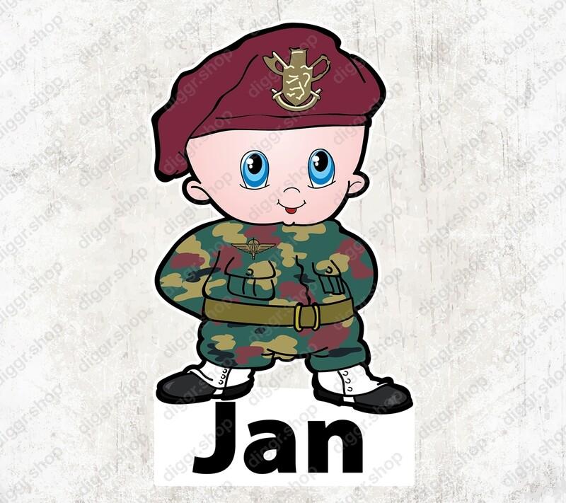 Geboortekaartje Para (militair) (1029)