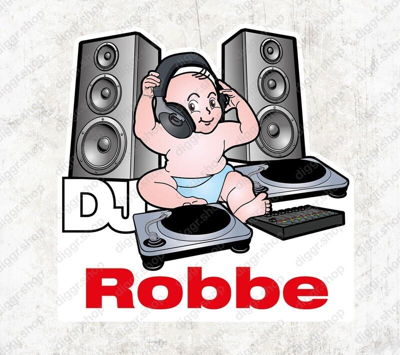 Geboortekaartje DJ (1020)