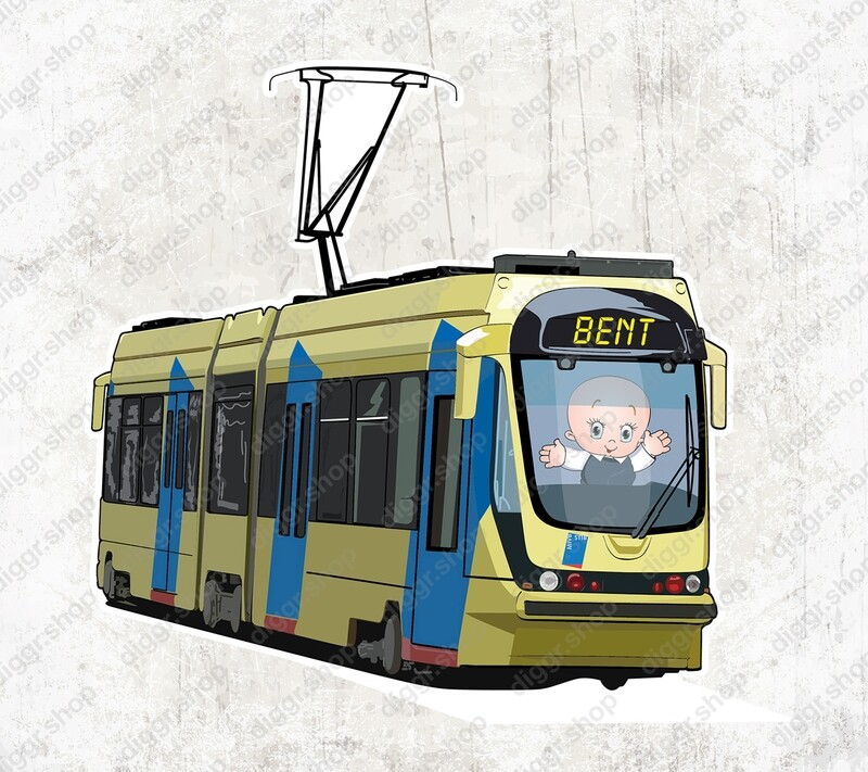 Geboortekaartje Tram Brussel (1044)