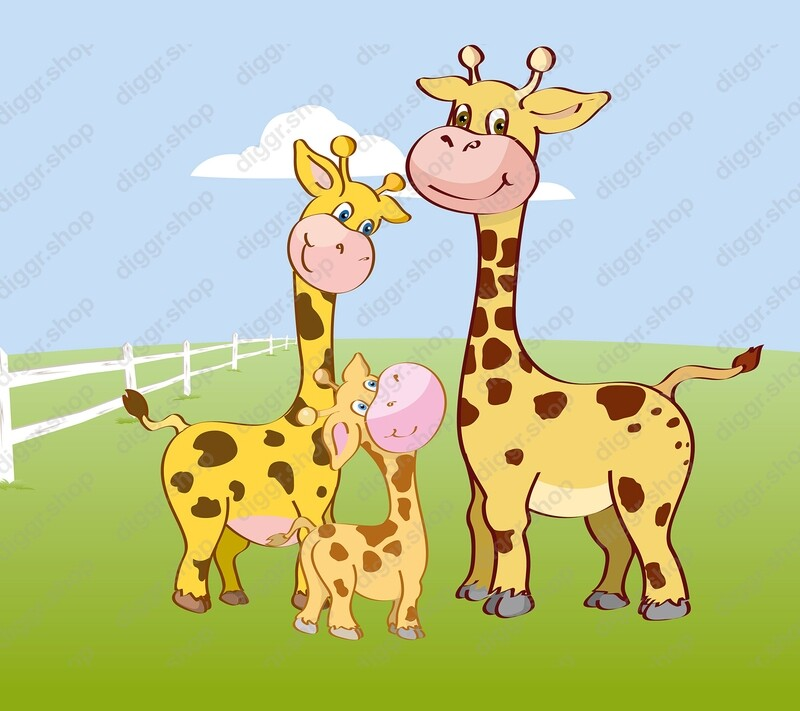 Geboortekaartje Giraffen (317)