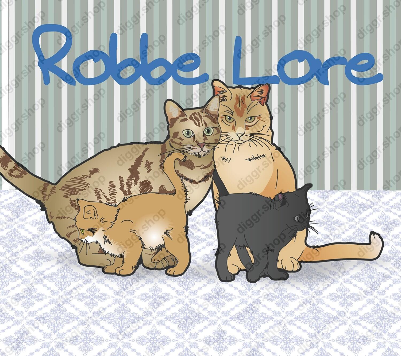 Geboortekaartje Katten Tweeling (331)