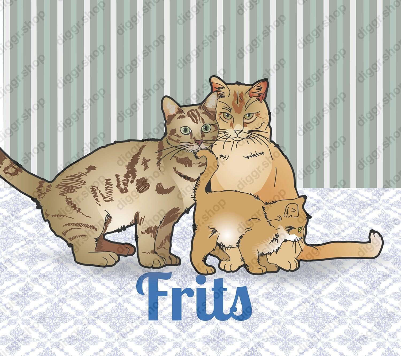 Geboortekaartje Katten (330)