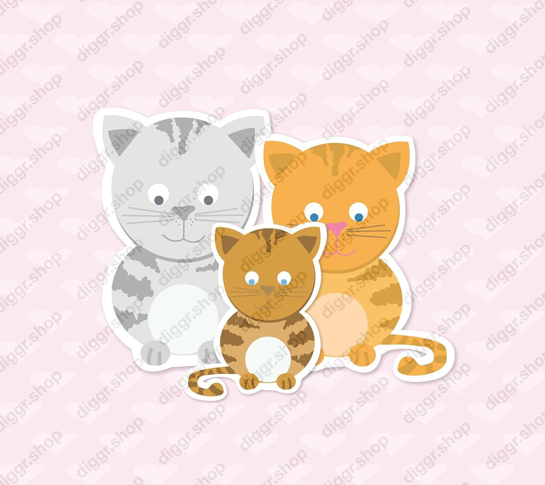 Geboortekaartje Katten 3010 (337)