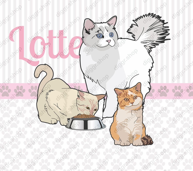 Geboortekaartje Katten (334)