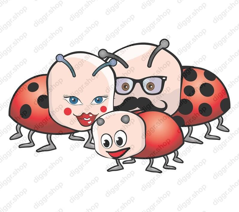 Geboortekaartje Lieveheersbeestjes (358)