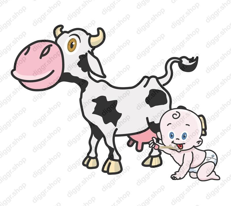 Geboortekaartje Koemelk 1 (352)