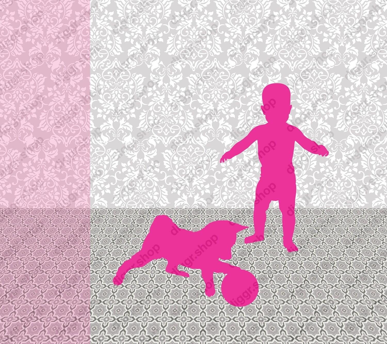 Geboortekaartje Met hond (378)