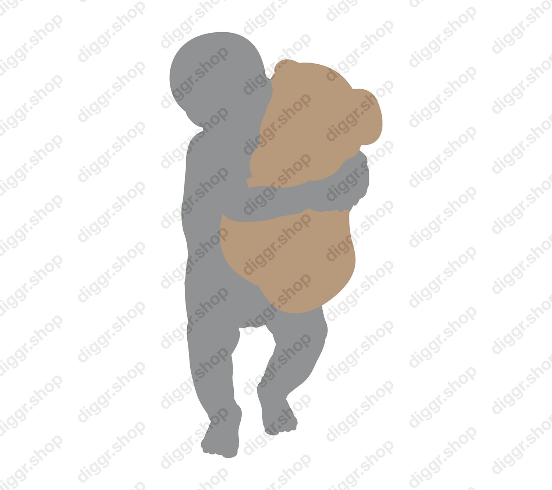 Geboortekaartje Teddiebeer 4 (388)