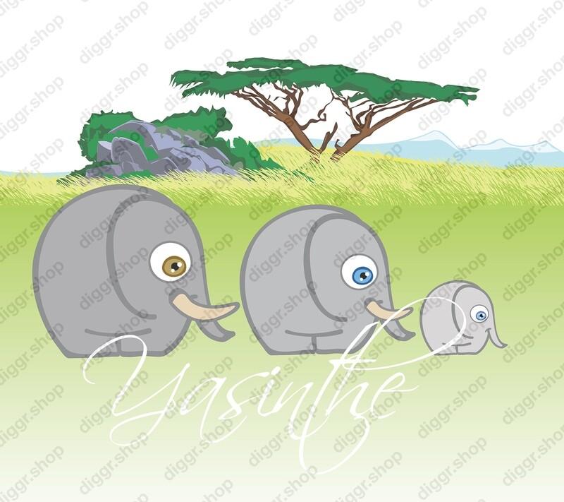 Geboortekaartje Olifantjes (395)