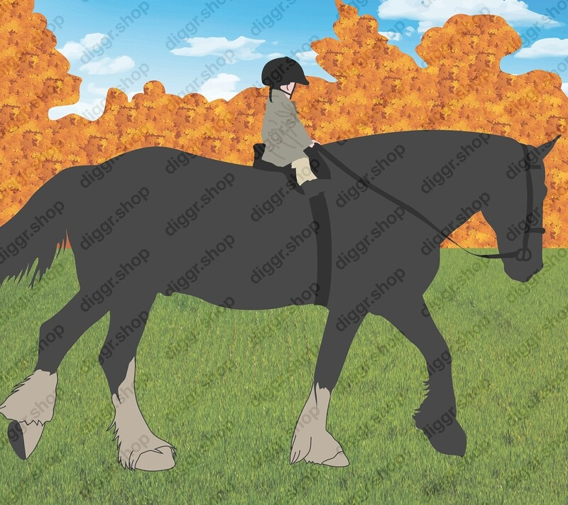 Geboortekaartje Paard 7 (399)