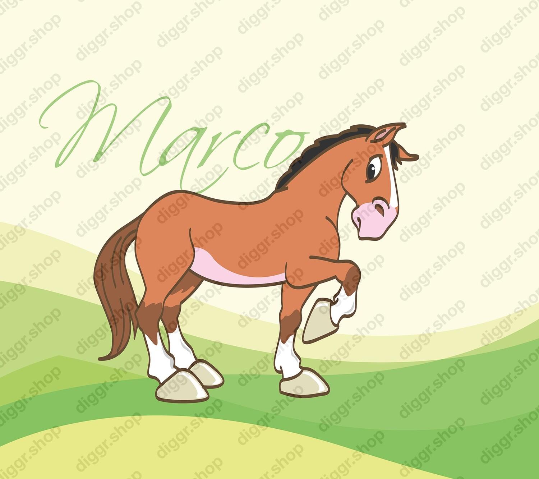 Geboortekaartje Paard 17 (400)