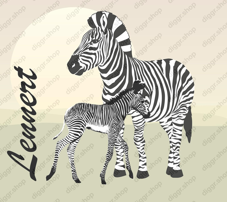 Geboortekaartje Zebra (443)
